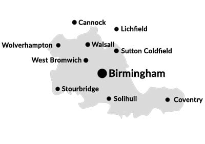 Company, Corporate and Commercial solicitors based in the West Midlands.